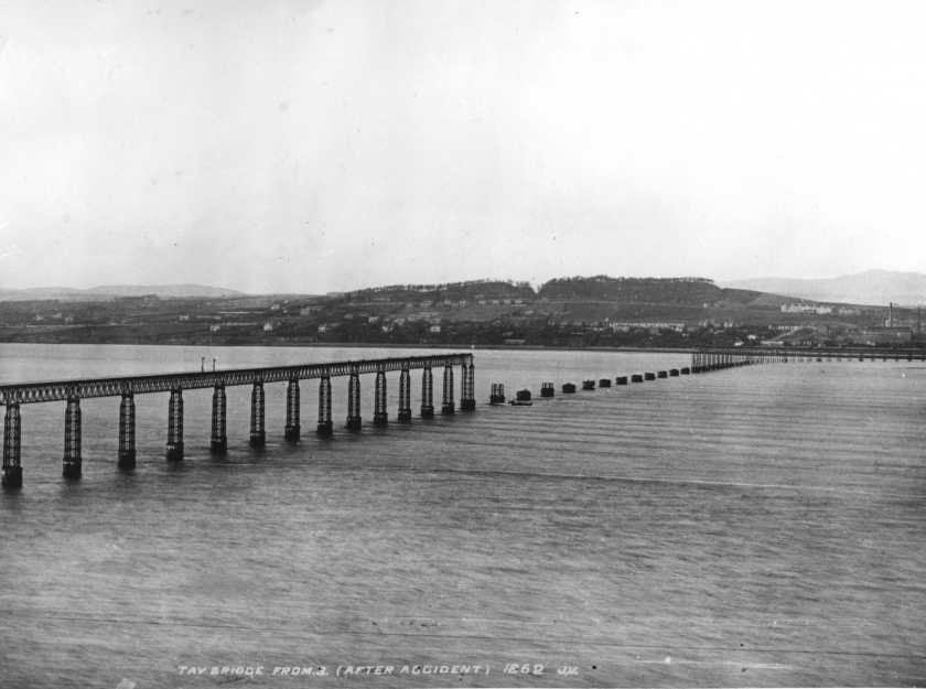 The Tay Bridge Disaster - Blown down by wind theory